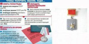 Как получить звание ветеран труда в 2020 году в краснодарском крае