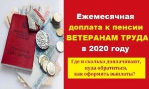 Где Оформить Льготы Ветеранам Труда В Московской Области В 2020 Году