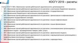 Кэк Для Бюджетных Учреждений Расшифровка 2020