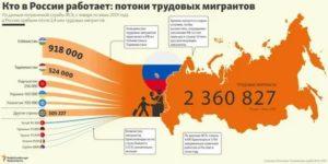 Трудовая Иммиграция России 2020