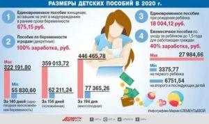 Пособия при рождении второго ребенка в 2020 году в москве
