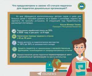 Закон о детских садах 2020 изменения