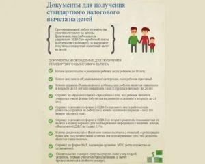 Налоговый вычет на ребенка инвалида в 2020 году какие нужны документы