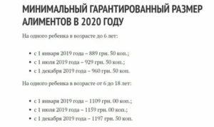 Сколько сейчас алименты на одного ребенка в 2020 году