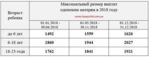 Льготы и пособия матерям одиночкам в 2019 в нижнем новгороде