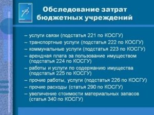 Косгу 225 и 226 расшифровка 2020