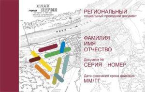 Региональный Социальный Проездной Документ В Перми И Крае