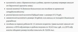 Льготы и пособия матерям одиночкам в 2019 году в московской области
