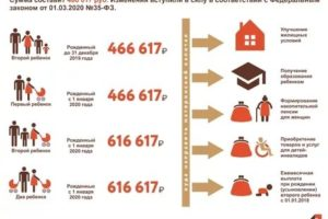 Будут ли в 2020 году выплачивать деньги из материнского капитала 25000