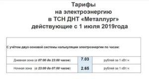 Тариф Одн За Электроэнергию С1 Июля 2020 Года В Твери