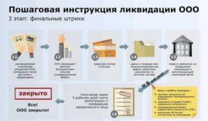 Ликвидация кооператива пошаговая инструкция 2020