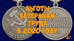 Какие льготы положены ветерану труда в мордовии в 2020 году
