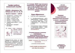 Компенсационная выплата в связи с рождением ребенка москва 2020