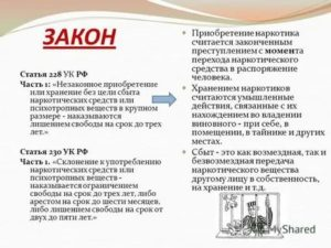228 Часть 1 Ук Рф Наказание 2020