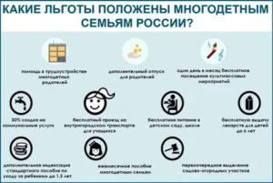Все Пособия И Выплаты Льготы Многодетным Семьям В 2020 Году В Новосибирске