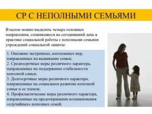 Программы Для Неполной Семьи