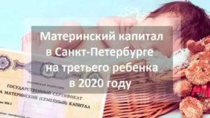 Региональный капитал на третьего ребенка в 2020 году пермский край