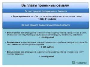 Выплаты приемным семьям в 2020 году в москве
