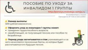 Пособие По Уходу За Инвалидом 1 Группы В Беларуси С 1 Января 2020