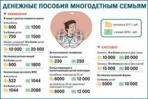 Льготы многодетным семьям в московской области в 2020 году секции кружки