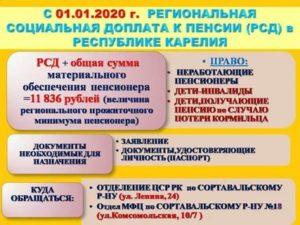 Доплата к пенсии реабилитированным гражданам в 2020 году