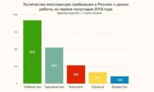 Нелегальные мигранты статистика в россии 2020 год