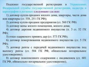 Договоры подлежащие обязательному нотариальному удостоверению 2020 гк