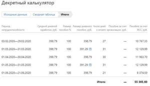 Как рассчитать декретных в 2020 году в казахстане калькулятор