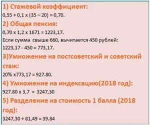 Алгоритм Расчета Стажевого Коэффициента В 2020 Году