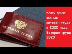 Как получить ветерана труда новосибирской области в 2020 году